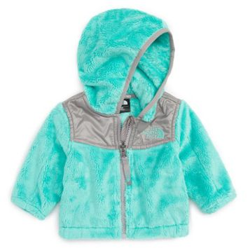 The North Face 'Oso' Fleece Hooded Jacket (Baby Girls) | Nordstrom
