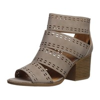 Cut Out Caged Chunk Sandal