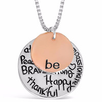 Positive Attitude Necklace