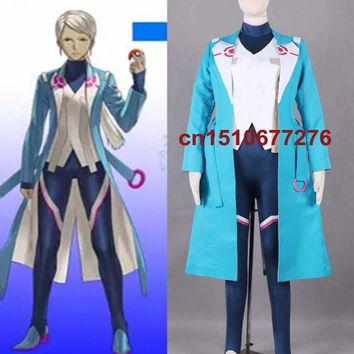 New Game  Go Team Trainer Cosplay costume Custom MadeKawaii Pokemon go  AT_89_9