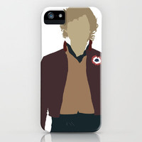 Enjolras - Aaron Tveit - Les Miserables Minimalist design iPhone & iPod Case by Hrern1313