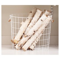 RE Wire Storage Basket - White - Large : Target