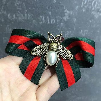 GUCCI Bee Women Fashion Hairbands Hair Hairtie Elastic Ponytail Headwear