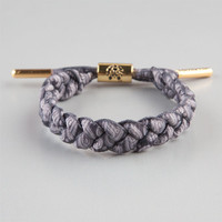 Rastaclat Kings Shoelace Bracelet Black/White One Size For Men 23874812501