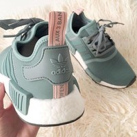 Adidas NMD Women Fashion Trending Running Sports Shoes Sneakers-9