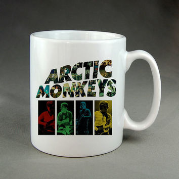 arctic monkeys,coffee mug,tea mug,ceramic mug