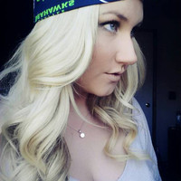 Seattle Seahawks reversible NFL Dolly bow