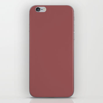 Marsala iPhone Skin by spaceandlines