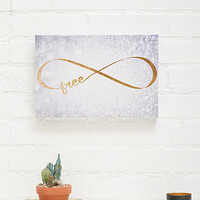 Freedom Sparkle Canvas Art