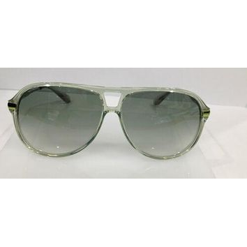 MARC BY MARC JACOBS MMJ 239/S JE8CX TRANSPARENT GREEN AVIATOR SUNGLASSES FRAME