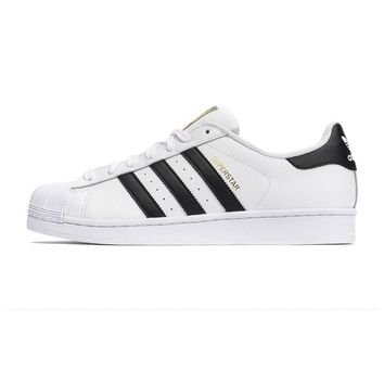 Original Adidas Superstar sport sneakers Casual Skateboard shoes Women's Men's shoes small white shoes