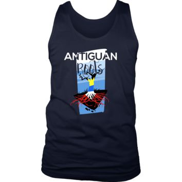 Antiguan Roots Antigua, Barbuda Pride Tree of Life Men's Tank