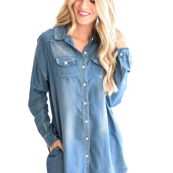 Emmy Denim Dress