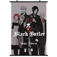Black Butler Anime Wall Scroll Poster (16''*24'') Support Customized