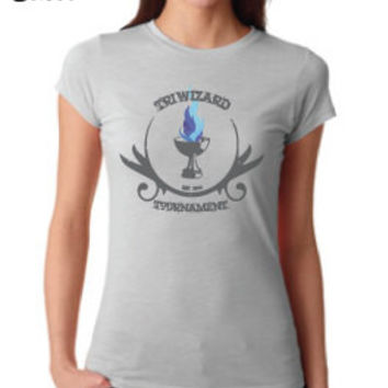 Harry Potter Inspired Clothing - Triwizard Tournament Goblet of Fire Crew Neck - Ladies