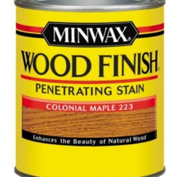 Minwax® 70005 Wood Finish™ Penetrating Wood Stain, Colonial Maple (223), 1 Qt