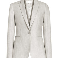 Connelly Jacket Warm Grey Tailored Blazer - REISS