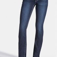 denim flex ™ supersoft slim boot dark wash jeans