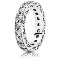 Authentic Pandora Jewelry - Infinity Ring Clear
