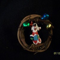 MarellaDesigns   Caroling Sylvester Wreath Pin   Online Store Powered by Storenvy