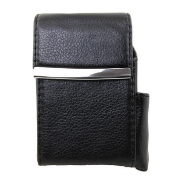 AFONiE Genuine Leather Cigarette Case Holder