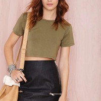 After Party Vintage Betina Crop Top