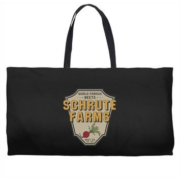 World Famous Beets Schrute Farms Weekender Totes
