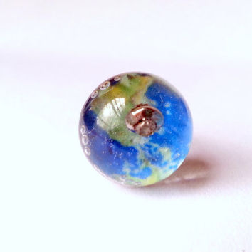 UFO Ring, Earth Ring, Earth Map Ring, Planet Ring, Space Ring, Alien Ring, UFO Jewelry, Space Jewelry, Earth Jewelry, Alien Jewelry, Space