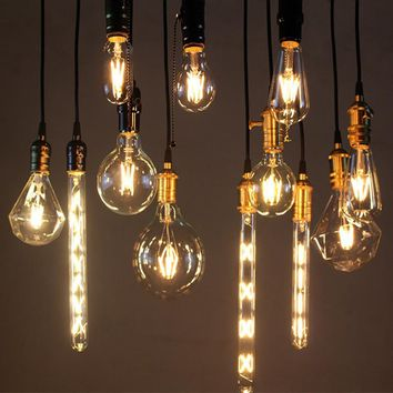 Antique LED Filament Light Bulbs