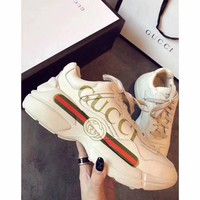 Gucci Fashion Casual Print Big Logo Sport Running Sneakers Shoes F-ALS-XZ