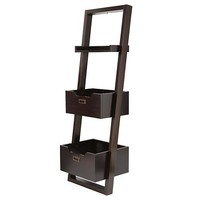 Little Sloane Leaning Bookcase (Java) in Bookcases | The Land of Nod