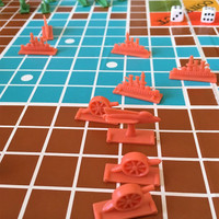 Vintage 1964 Conflict War Game Board Game by Parker Brothers / Retro War Games / Complete and in great Condition