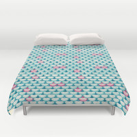 Song to the Siren Duvet Cover by Timone