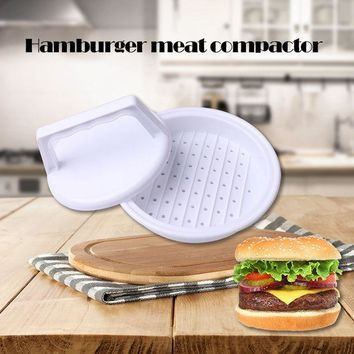 VONC1Y 1 Set Burger Press Hamburger Maker Non Stick Cakes Patty Mold Ideal for BBQ Grill Accessories DIY Burger Maker Home Kitchen Tool