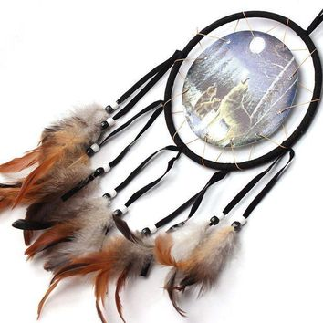 ICIKU7Q 2017 New Dream Catcher Double Heart Car Home Wall Hanging Decoration Ornament room decorations
