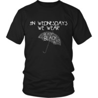 American Horror Story On Wednesday's We Wear Black T-Shirt #2
