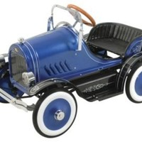One Kings Lane - Fun & Games - Dexton Deluxe Blue Roadster Pedal Car