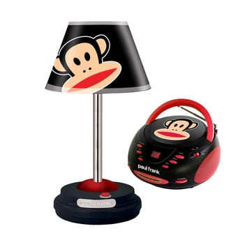 Paul Frank Table Lamp and CD Boombox