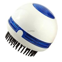Electric Hair Scalp Head Massager Vibrating Comb Brush Promote Blood Circulation