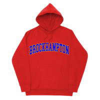 'college' hoodie (red)