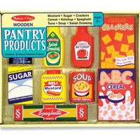 Melissa & Doug Wooden Pantry Products