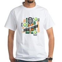 Tennis, Anyone? White T-Shirt> Tennis, Anyone?> Nature Tees
