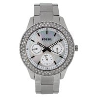 Fossil Stella Multifunction Stainless Steel Watch Es2860