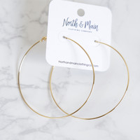 Camila Hoop Earrings