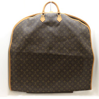 LOUIS VUITTON Monogram Garment Cover Housse Porte Habits M23434 Auth F/S JAPAN