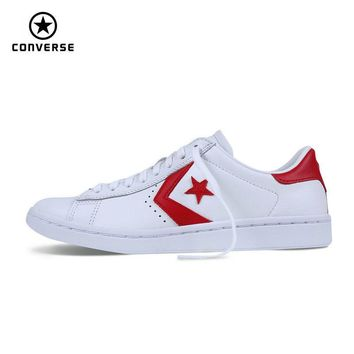 2017 new Converse Star Player style Leather women's sneakers spring autumn Contrast color Skateboarding Shoes 555933C