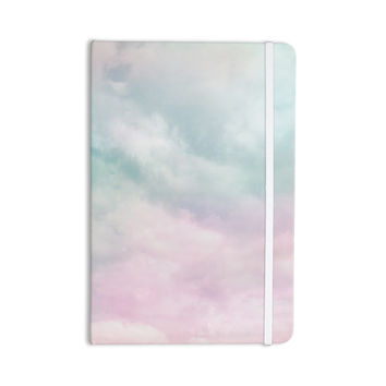 "Michelle Drew ""VIntage Clouds "" Pastel Nature Everything Notebook"