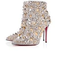 So Full Kate 100 Silver/Multi Calf Glitter - Women Shoes - Christian Louboutin