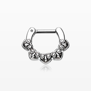 Tribal Penta Septum Clicker