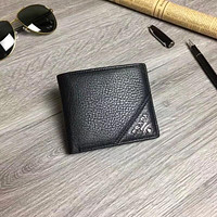 PRADA MEN'S LEATHER WALLET